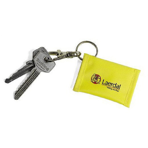 Face Shield CPR Barrier on Key Ring