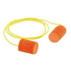 3M™ E-A-R™ Push-to-Fit Foam Polyurethane Corded Earplugs