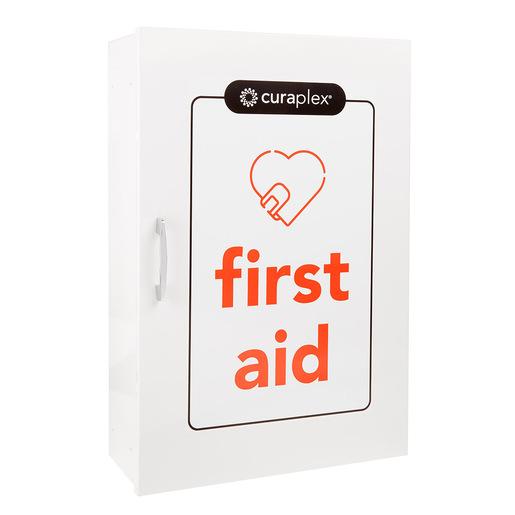 Curaplex 4 Shelf First Aid Cabinet