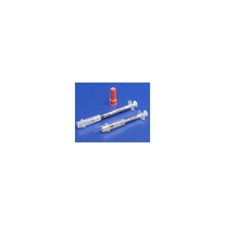 Monoject™ Insulin Safety Syringe with Needle, 1mL, 29ga x 1/2in