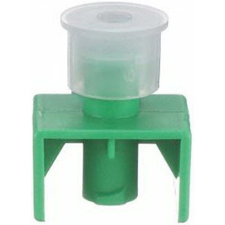Fluid Dispensing Connector, Green