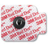 Red Dot™ Cloth Repositionable Monitoring Electrodes, Adult/Pediatric, 1.56in x 1.25in Size