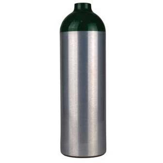 MJD Medical Oxygen Cylinder, Aluminum, Z Valve, Size Jumbo D