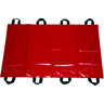 Curaplex® Transfer Sheet with 8 Handles, 18in x 72in, Red