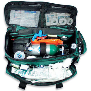 LA Rescue O2 To Go Pro Kit with Oxygen Module, Green