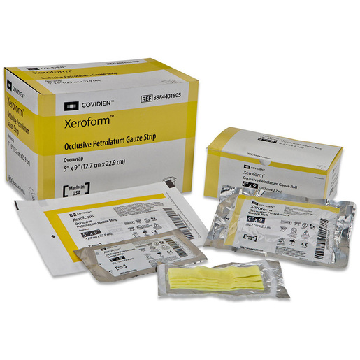 Xeroform Petrolatum Gauze Dressing, 5in x 9in