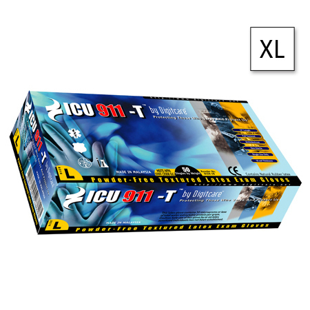 ICU911 Natural Gloves (Boxed)