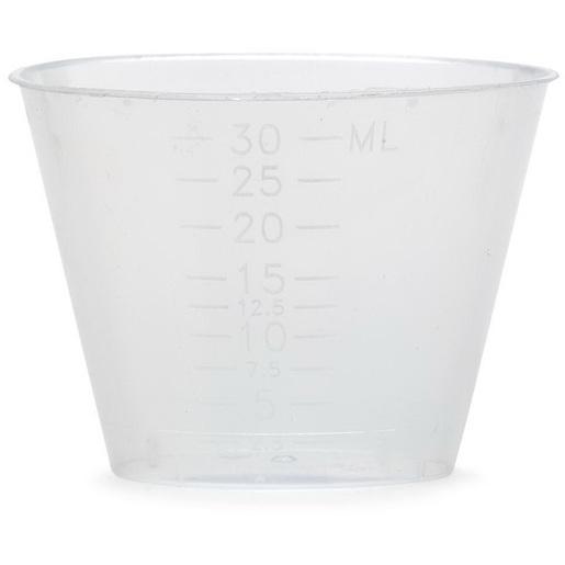 Medicine Cup, 1oz, Polypropylene