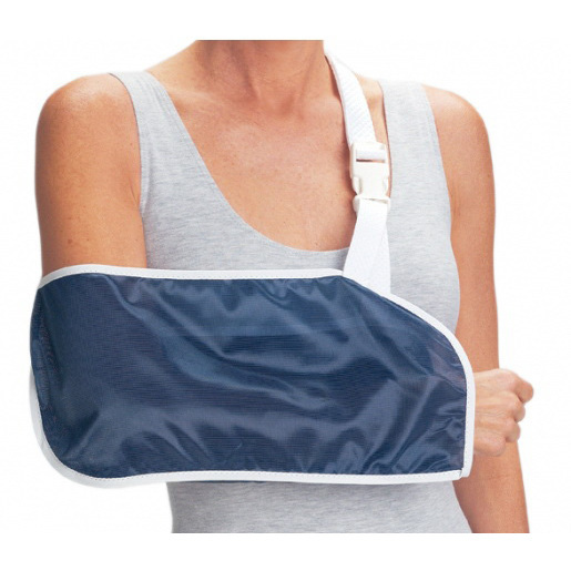 *Discontinued* Procare® Quick Release Arm Sling, Navy Blue, Small, 16in L x 7in D