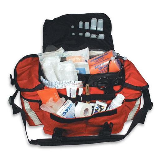 First Call In Bag, 17in L x 12in W x 10in H, Orange, 1000 Denier Cordura Nylon