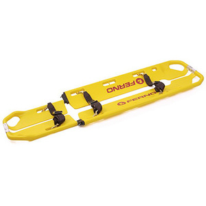Scoop™ EXL Scoop Stretcher with Pins and Restraints, Yellow