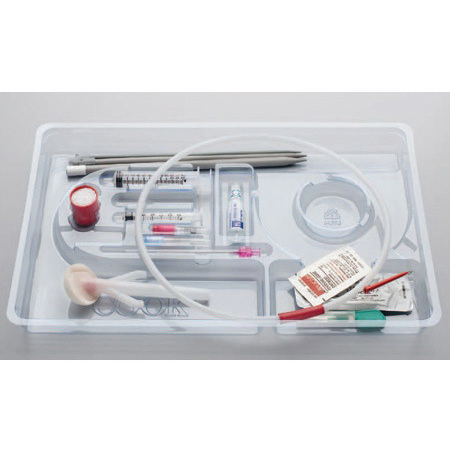 Thal-Quick Chest Tube Tray, 32fr Tube Size, 41cm L