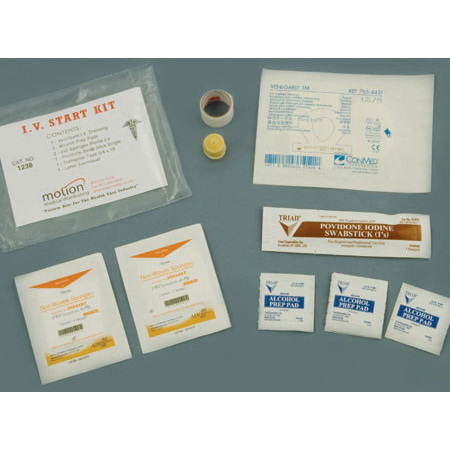 IV Start Kit with Veni-Gard® Stabilization Dressing, Latex-free *Non-Returnable and Non-Cancelable*