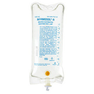 Normosol™-R Multiple Electrolytes Injection, Type 1 USP, 1000mL, Flexible Container