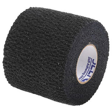 SelfGrip® Tape, 2in, Black, 98% Cotton and 2% Latex Woven