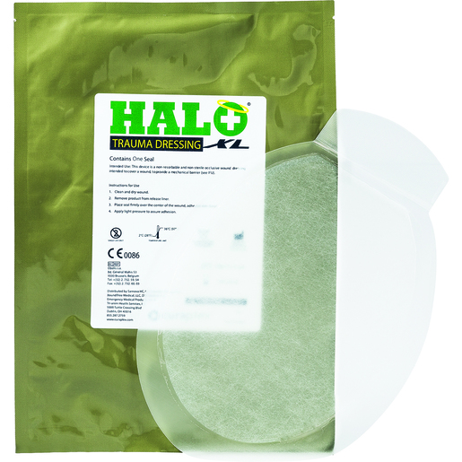 *Discontinued* HALO XL Trauma Dressing, 8.5in x 12.5in