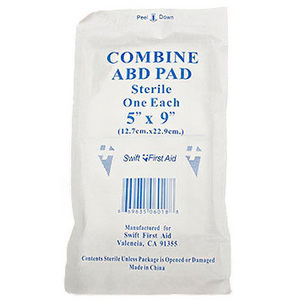 ABD Combine Pads, 5in x 9in