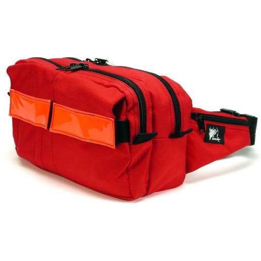 OTS-XL Emergency WaistPak, Red with Red Reflective Stripe