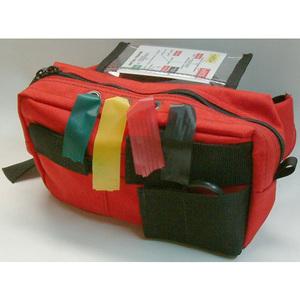 Basic Triage Kit, Large, Red