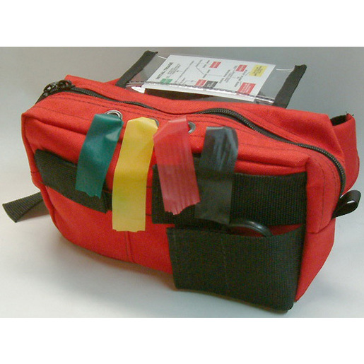 Basic Triage Kit, Large, Red