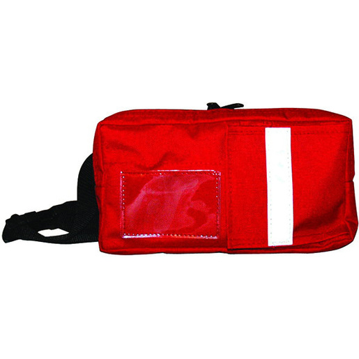 EMT Fanny Pack, Red, 10.5in L x 5.5in H x 4.25in D