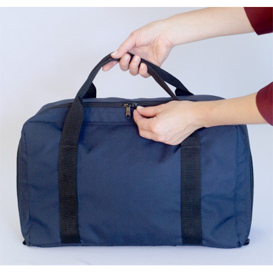 *Discontinued* Hip Hugger Trauma Pack, Blue, 16in x 11in x 8in