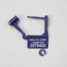 Padlock Drug Seals, Purple, Pack of 100