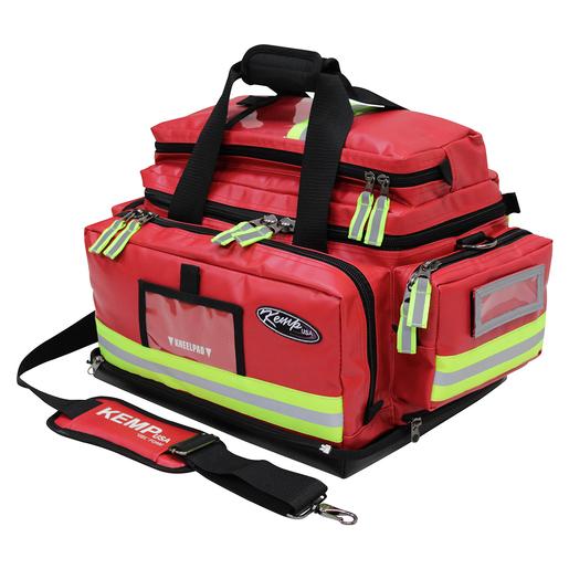 Tarpaulin Fluid-Resistant Large Trauma Bag, Red
