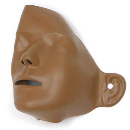 Little Anne® Training Manikin Faces, Dark Skin