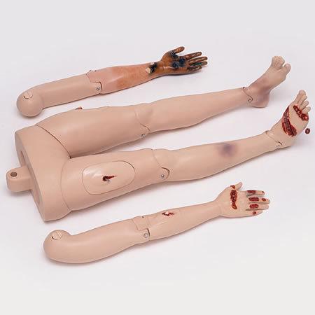 First Aid/Trauma Arm/Leg Module with Soft Pack