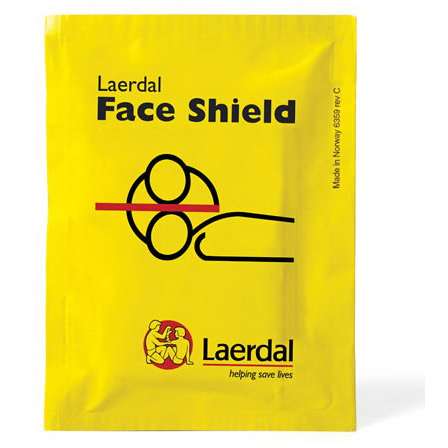 *Discontinued* Laerdal Face Shield, Small