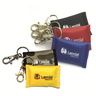 Face Shield CPR Barrier on Key Ring, Assorted Color