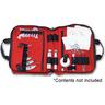 Intubation Kit Bag, 13in L x 11in W x 4in D, Red