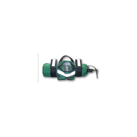 LA Rescue O2 Cylinder Sleeve, Size D Tank, 16in L x 5in Diameter, Green