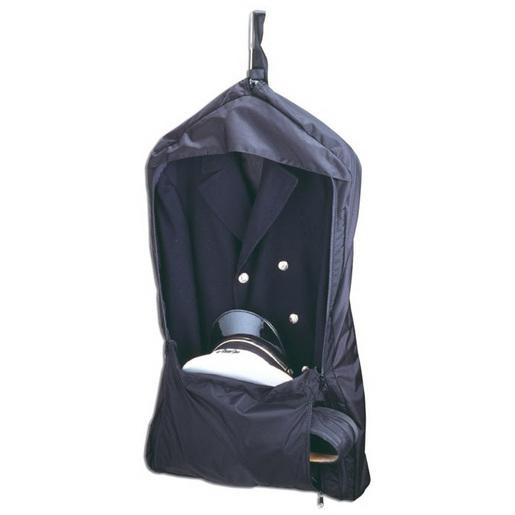 """Class """"A"""" Garment Bag, 20in L x 4in W x 40in H, Black, Ballistic Nylon"""