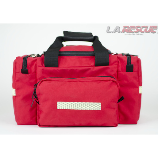 First Responder Attack Pack, 18in L x 13in W x 11in H, Red, Glo-Flex