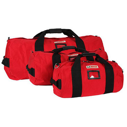 Equipment Duffel, Small, 11in Diameter x 21in L, Red, 1000 Denier Cordura, Without Shoulder Strap