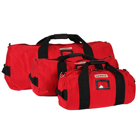 Equipment Duffel, Large, 15in Diameter x 35in L, Red, 1000 Denier Cordura, Without Shoulder Strap