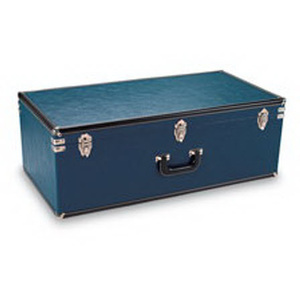 Hard Carry Case with Handle, Blue