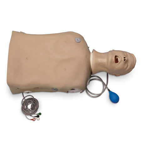 Life/Form® Deluxe CRiSis™ Torso Manikin with ''Airway Larry'' Trainer