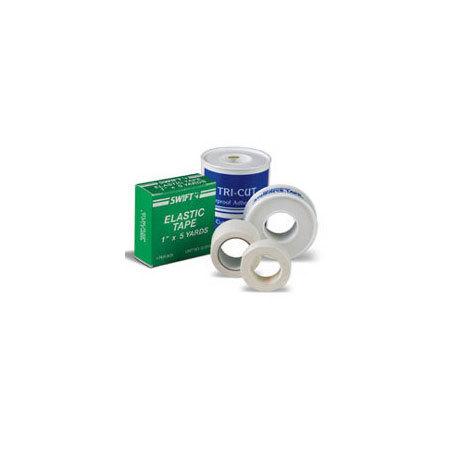 Elastic Adhesive Tape, Tan, 5yd L x 1in W