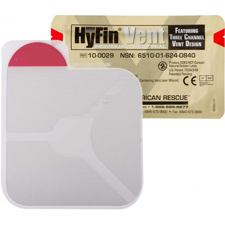 HyFin Vent Chest Seal, Individual