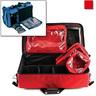 Modular Medical Oxygen Bag, 22in L x 12in W x 10.5in H, Red