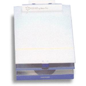 Posse Box Clipboard, Silver, 9in x 14in x 1.5in
