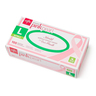 Generation Pink Pearl Powder-Free Nitrile Gloves with Aloe, Large