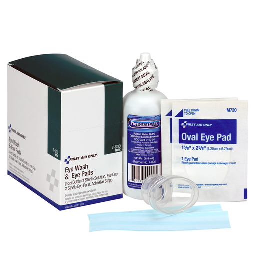 FIRST AID ONLY® Eye Wash Kit