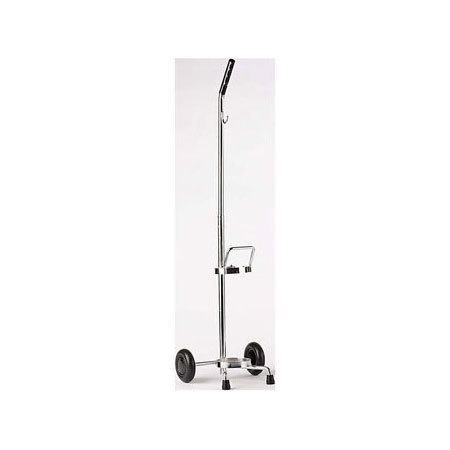 Oxygen Cylinder Cart, 44in H x 12.5in W x 12in D
