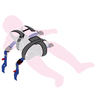 Ambulance Child Restraint (ACR) Harness, X-Small Size Only