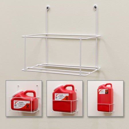 Sharps Wall Mount Bracket, For 1, 2 Or 3gal Container