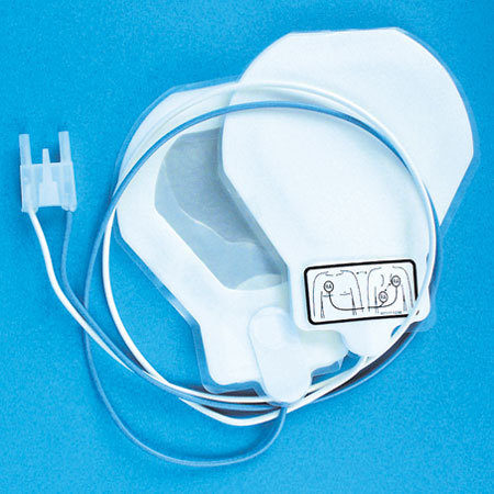 *Limited Quantity* R2® Stat Padz Defib Radiotranslucent Electrode Pad with Zoll® Connector, 4.5in x 4.5in, Pediatric